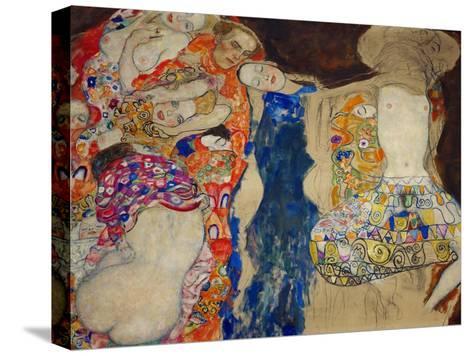 The Bride-Gustav Klimt-Stretched Canvas Print
