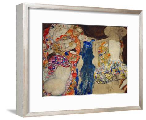 The Bride-Gustav Klimt-Framed Art Print