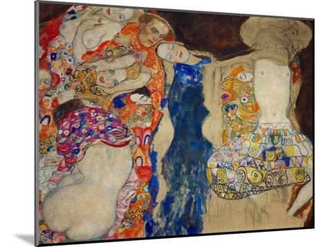 The Bride-Gustav Klimt-Mounted Giclee Print