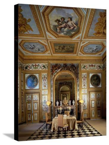 Salle Des Buffets, Dining Room-Charles Le Brun-Stretched Canvas Print