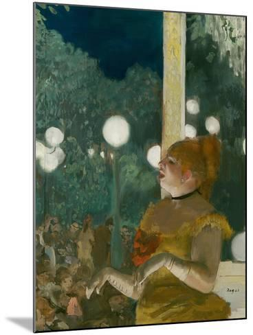 The Song of the Dog, Gouache and Pastel on Monotype-Edgar Degas-Mounted Giclee Print