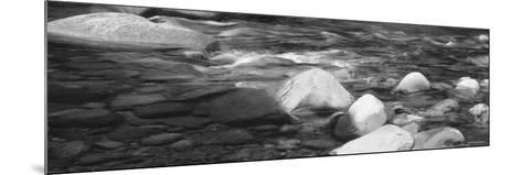 Rocks in the Swift River, White Mountain National Forest, New Hampshire, USA--Mounted Photographic Print