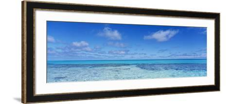 Clouds over the Pacific Ocean, Rangiroa, French Polynesia--Framed Art Print
