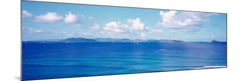 British Virgin Islands, Boats in the Sea--Mounted Photographic Print