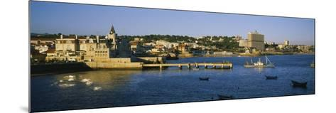 Buildings at the Waterfront, Cascais, Lisbon, Portugal--Mounted Photographic Print