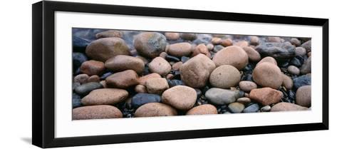 Rocks, Acadia National Park, Maine, USA--Framed Art Print