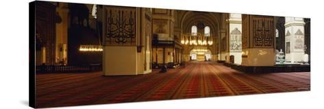 Interiors of a Mosque, Ulu Camii, Bursa, Bursa Province, Turkey--Stretched Canvas Print