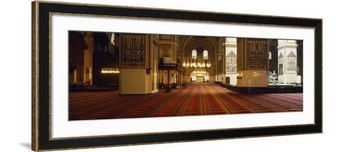 Interiors of a Mosque, Ulu Camii, Bursa, Bursa Province, Turkey--Framed Art Print