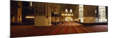 Interiors of a Mosque, Ulu Camii, Bursa, Bursa Province, Turkey--Mounted Photographic Print