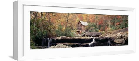 Mill in a Forest, Glade Creek Grist Mill, Babcock State Park, West Virginia, USA--Framed Art Print