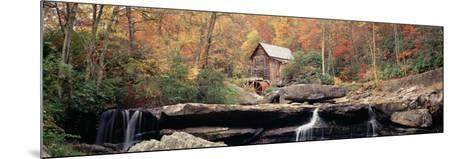 Mill in a Forest, Glade Creek Grist Mill, Babcock State Park, West Virginia, USA--Mounted Photographic Print