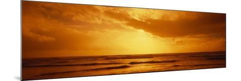 Ocean at Dusk, Pacific Ocean, California, USA--Mounted Photographic Print