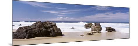 Rocks on the Beach, Big Sur Coast, Pacific Ocean, California, USA--Mounted Photographic Print