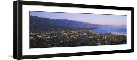Highway 101, Santa Ynez, Santa Barbara, California, USA--Framed Art Print