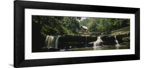 Watermill in a Forest, Babcock State Park, West Virginia, USA--Framed Art Print