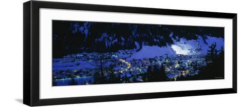 Davos, Switzerland--Framed Art Print