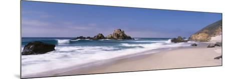 Surf on the Beach, Pfeiffer Beach, Big Sur, California, USA--Mounted Photographic Print