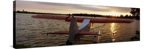 Sea Plane, Lake Spenard, Anchorage, Alaska, USA--Stretched Canvas Print