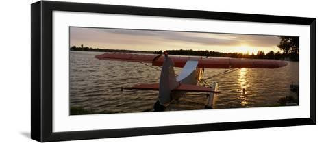 Sea Plane, Lake Spenard, Anchorage, Alaska, USA--Framed Art Print