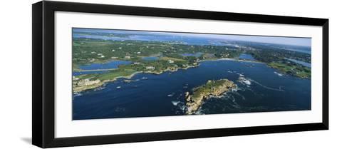 Island, Newport, Rhode Island, USA--Framed Art Print