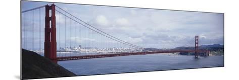 Bridge Across a River, Golden Gate Bridge, San Francisco, California, USA--Mounted Photographic Print