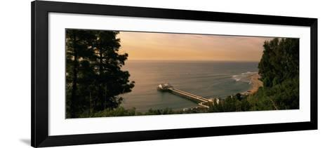 Pier, Malibu, California, USA--Framed Art Print