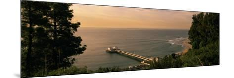 Pier, Malibu, California, USA--Mounted Photographic Print