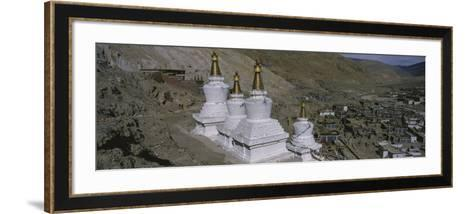 Stupa, Buddhist Stupas, Tibet--Framed Art Print