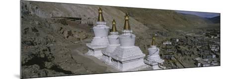 Stupa, Buddhist Stupas, Tibet--Mounted Photographic Print