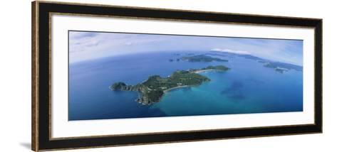 Island, Bay of Islands, North Island, New Zealand--Framed Art Print