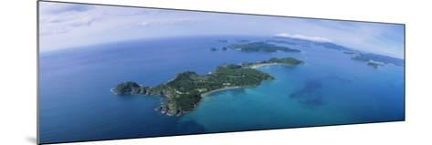 Island, Bay of Islands, North Island, New Zealand--Mounted Photographic Print