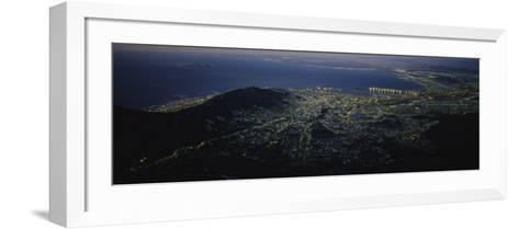 Cape Town, South Africa--Framed Art Print