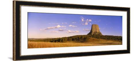 Devil's Tower National Monument, Wyoming, USA--Framed Art Print