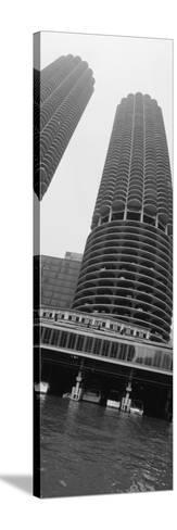 Towers, Marina Towers, Chicago, Illinois, USA--Stretched Canvas Print