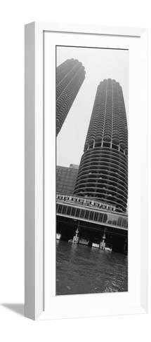 Towers, Marina Towers, Chicago, Illinois, USA--Framed Art Print