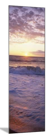 Sunrise over the Sea--Mounted Photographic Print