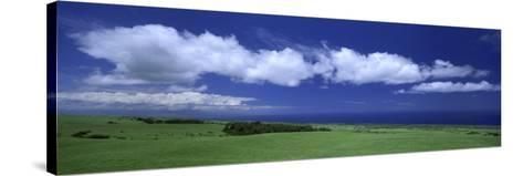 Cloud over a Landscape, Kohala, Big Island, Hawaii, USA--Stretched Canvas Print