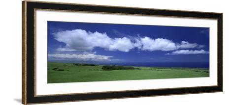 Cloud over a Landscape, Kohala, Big Island, Hawaii, USA--Framed Art Print