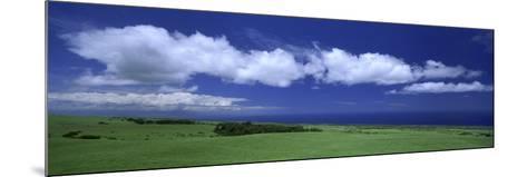 Cloud over a Landscape, Kohala, Big Island, Hawaii, USA--Mounted Photographic Print