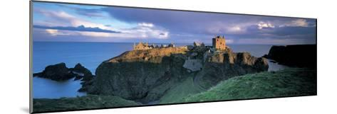 Castle, Stonehaven, Grampian, Aberdeen, Scotland--Mounted Photographic Print