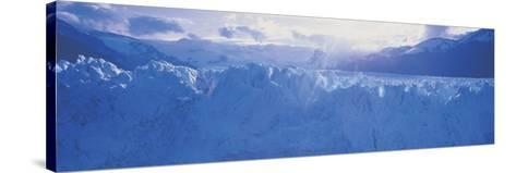 Glacier in a National Park, Moreno Glacier, Los Glaciares National Park, Patagonia, Argentina--Stretched Canvas Print