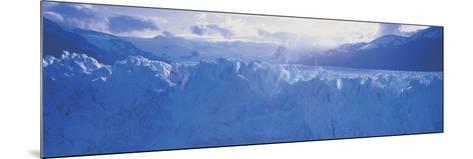 Glacier in a National Park, Moreno Glacier, Los Glaciares National Park, Patagonia, Argentina--Mounted Photographic Print