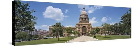 Facade of a Government Building, Texas State Capitol, Austin, Texas, USA--Stretched Canvas Print