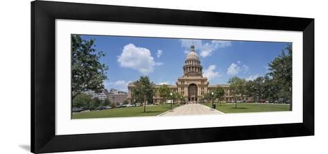 Facade of a Government Building, Texas State Capitol, Austin, Texas, USA--Framed Art Print