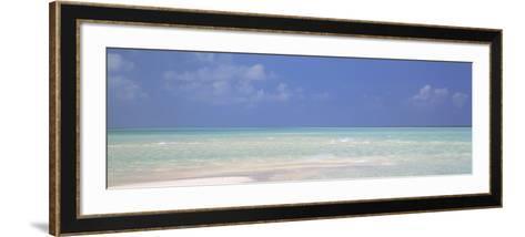 Indian Ocean, Maldives--Framed Art Print