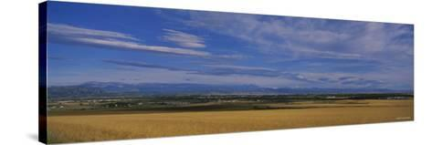 Rocky Mountains Thirty Miles Outside of Boulder , Colorado, USA--Stretched Canvas Print