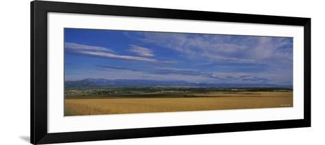 Rocky Mountains Thirty Miles Outside of Boulder , Colorado, USA--Framed Art Print