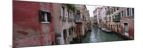 Buildings on Both Sides of a Canal, Grand Canal, Venice, Italy--Mounted Photographic Print