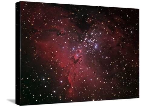 The Eagle Nebula-Stocktrek Images-Stretched Canvas Print
