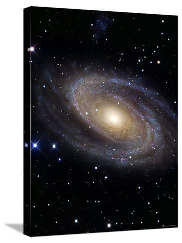 Messier 81-Stocktrek Images-Stretched Canvas Print